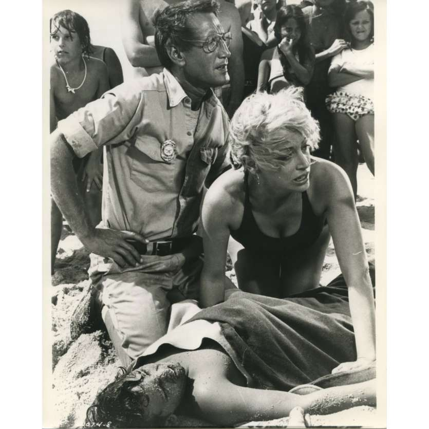 JAWS Original Movie Still N10 - 8x10 in. - 1975 - Steven Spielberg, Roy Sheider