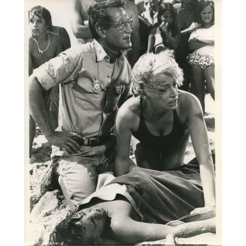 LES DENTS DE LA MER Photo de presse N10 - 20x25 cm. - 1975 - Roy Sheider, Steven Spielberg