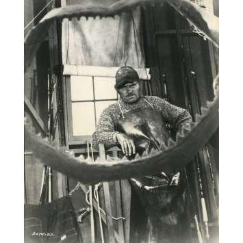 LES DENTS DE LA MER Photo de presse N08 - 20x25 cm. - 1975 - Roy Sheider, Steven Spielberg
