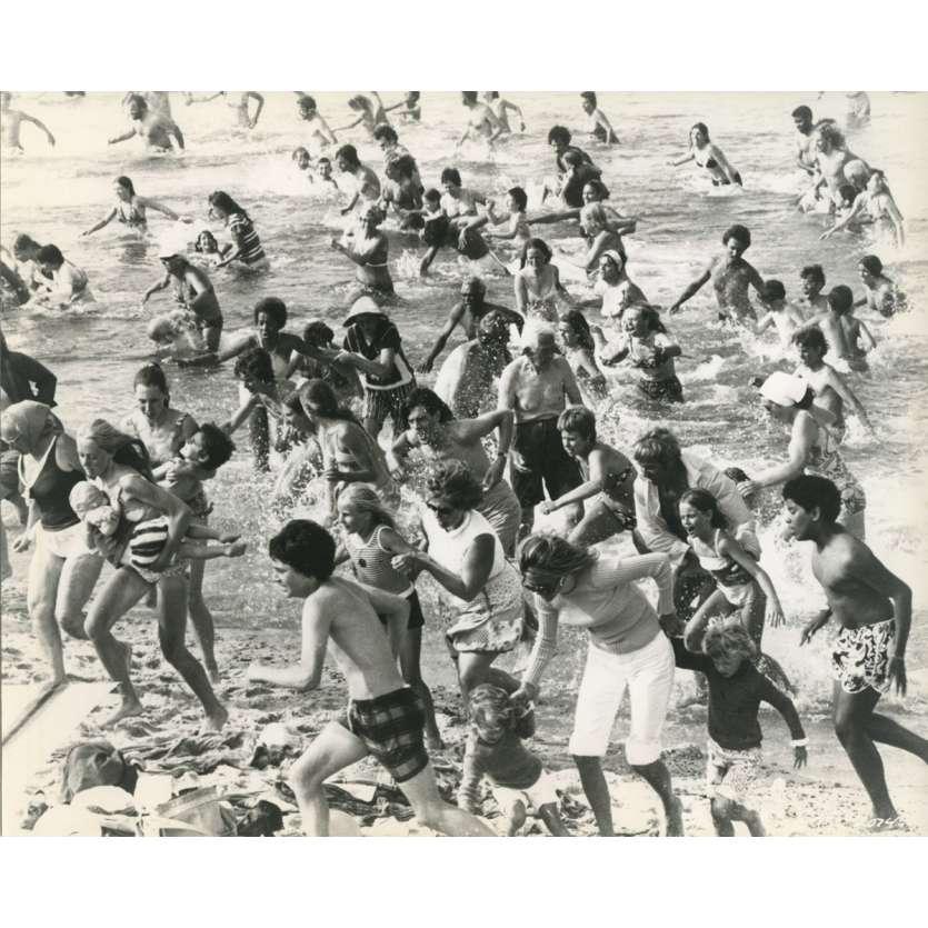 LES DENTS DE LA MER Photo de presse N05 - 20x25 cm. - 1975 - Roy Sheider, Steven Spielberg