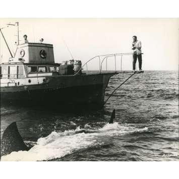 LES DENTS DE LA MER Photo de presse N03 - 20x25 cm. - 1975 - Roy Sheider, Steven Spielberg