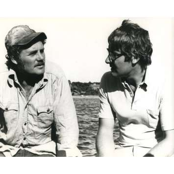 LES DENTS DE LA MER Photo de presse N02 - 20x25 cm. - 1975 - Roy Sheider, Steven Spielberg