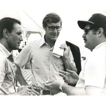 LES DENTS DE LA MER Photo de presse N01 - 20x25 cm. - 1975 - Roy Sheider, Steven Spielberg
