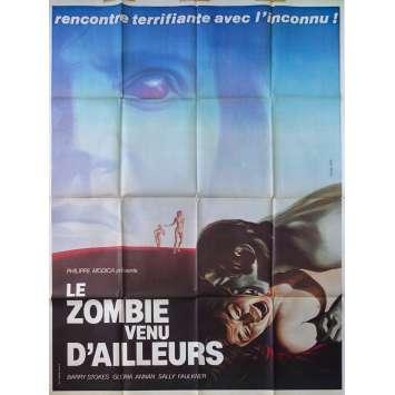 LE ZOMBIE VENU D'AILLEURS Affiche de film - 120x160 cm. - 1977 - Barry Stokes, Norman J. Warren