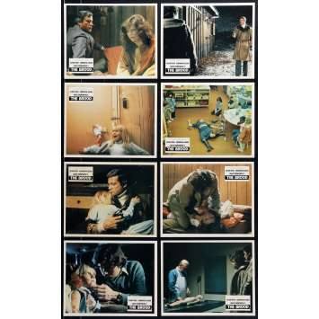 THE BROOD Original Lobby Cards x8 - 8x10 in. - 1979 - David Cronenberg, Samantha Eggar