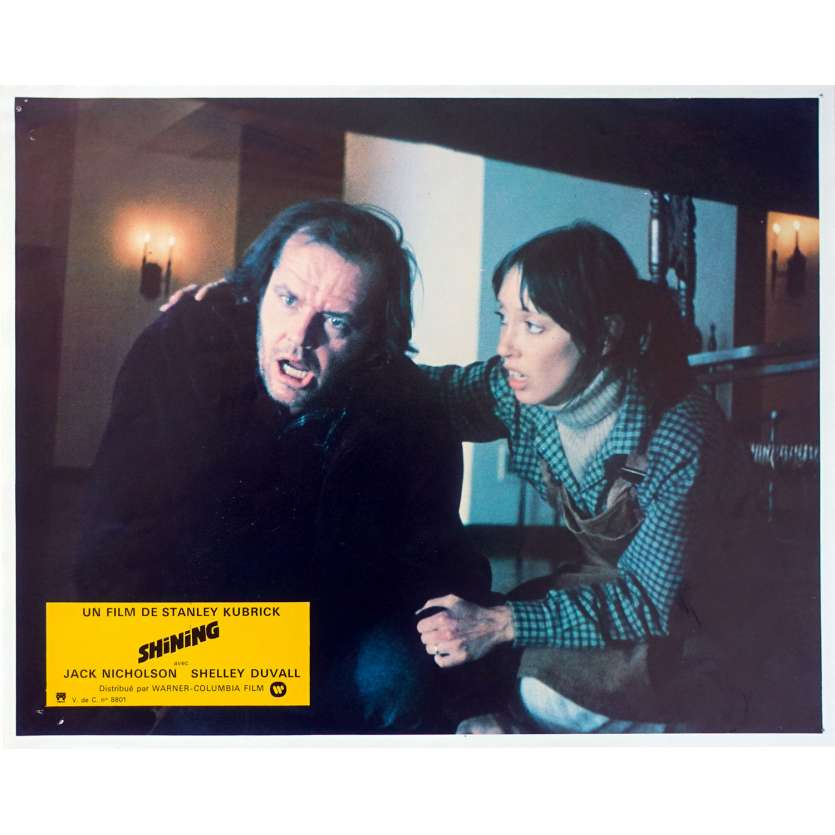 THE SHINING Original Lobby Card N04 - 9x12 in. - 1980 - Stanley Kubrick, Jack Nicholson