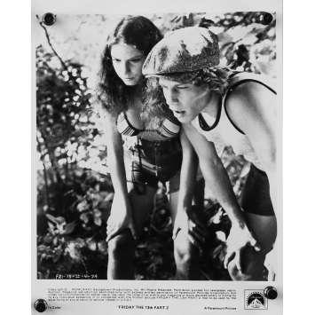 VENDREDI 13 - LE TUEUR DU VENDREDI Photo de presse N4 - 20x25 cm. - 1981 - Betsy Palmer, Steve Miner