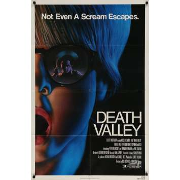 LA VALLEE DE LA MORT Affiche de film - 69x104 cm. - 1982 - Paul Le Mat, Dick Richards