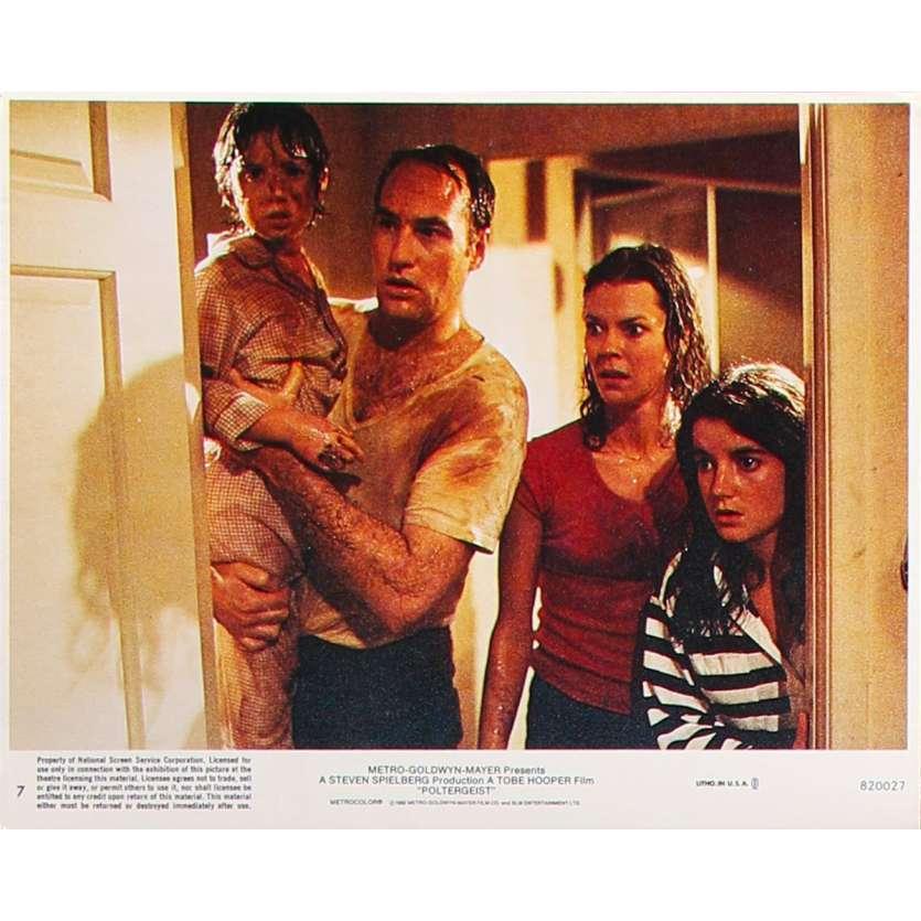 POLTERGEIST Photo de film N7 - 20x25 cm. - 1982 - Heather o'rourke, Steven Spielberg