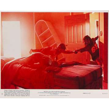 POLTERGEIST Photo de film N5 - 20x25 cm. - 1982 - Heather o'rourke, Steven Spielberg