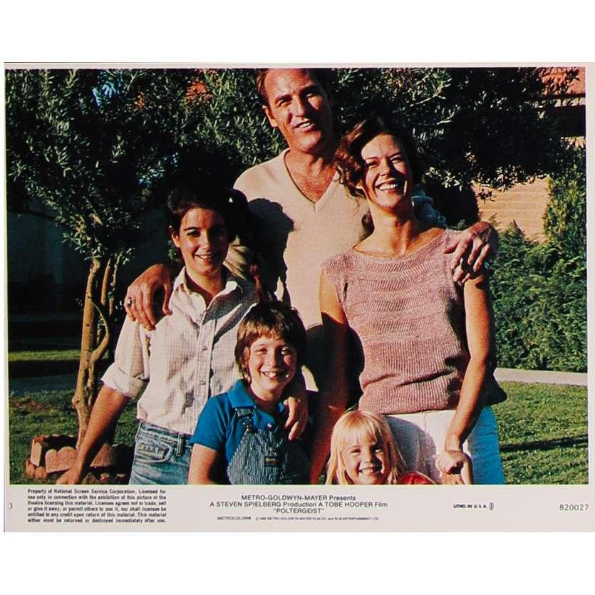 POLTERGEIST Original Lobby Card N3 - 8x10 in. - 1982 - Steven Spielberg, Heather o'rourke