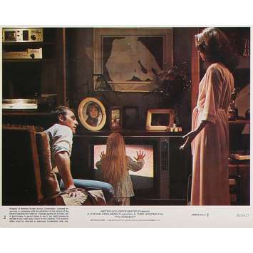 POLTERGEIST Original Lobby Card N2 - 8x10 in. - 1982 - Steven Spielberg, Heather o'rourke