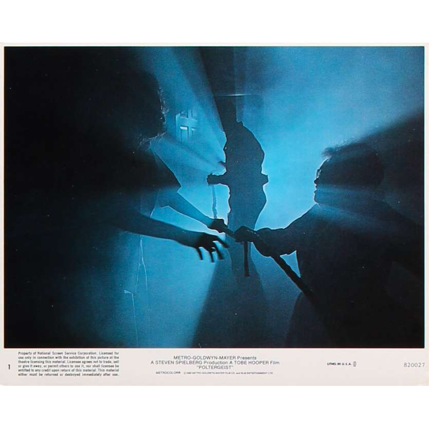 POLTERGEIST Original Lobby Card N1 - 8x10 in. - 1982 - Steven Spielberg, Heather o'rourke
