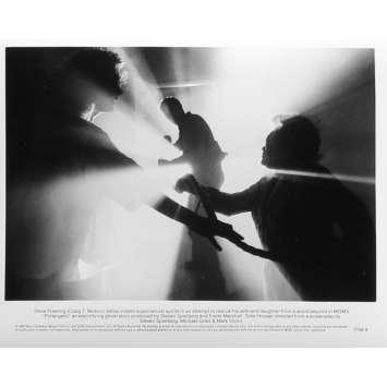 POLTERGEIST Photo de presse N9 - 20x25 cm. - 1982 - Heather o'rourke, Steven Spielberg