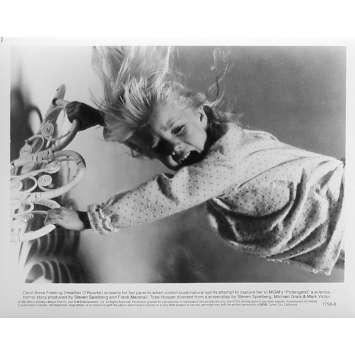 POLTERGEIST Photo de presse N8 - 20x25 cm. - 1982 - Heather o'rourke, Steven Spielberg