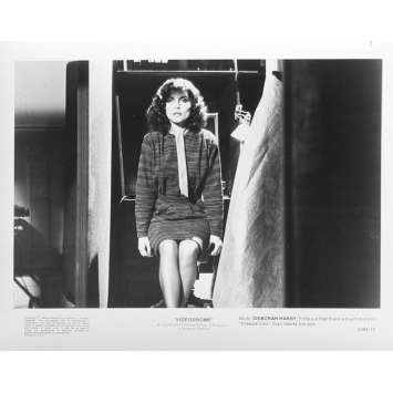 VIDEODROME Photo de presse N10 - 20x25 cm. - 1983 - James Woods, David Cronenberg