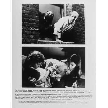 PRINCE DES TENEBRES Photo de presse N07 - 20x25 cm. - 1987 - Donald Pleasence, John Carpenter