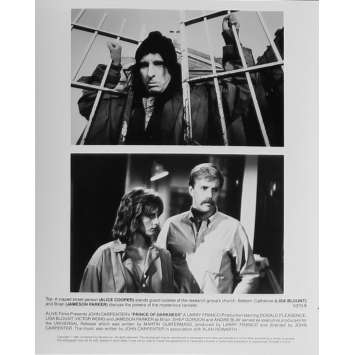PRINCE DES TENEBRES Photo de presse N06 - 20x25 cm. - 1987 - Donald Pleasence, John Carpenter