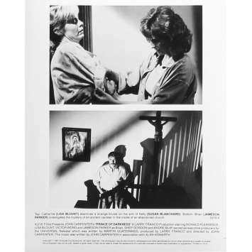 PRINCE DES TENEBRES Photo de presse N04 - 20x25 cm. - 1987 - Donald Pleasence, John Carpenter