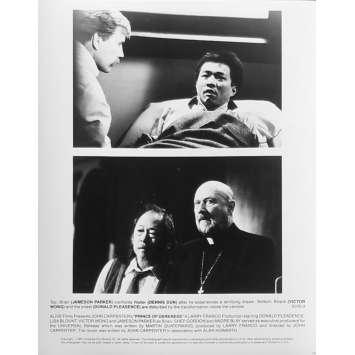 PRINCE DES TENEBRES Photo de presse N03 - 20x25 cm. - 1987 - Donald Pleasence, John Carpenter