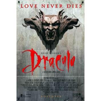 DRACULA Affiche de film - 69x104 cm. - 1992 - Gary Oldman, Winona Ryder, Francis Ford Coppola