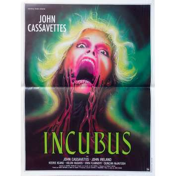 INCUBUS Affiche de film - 40x60 cm. - 1982 - John Cassavetes, John Hough