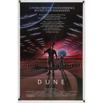 DUNE Affiche de film - 69x102 cm. - 1982 - Kyle McLachlan, David Lynch