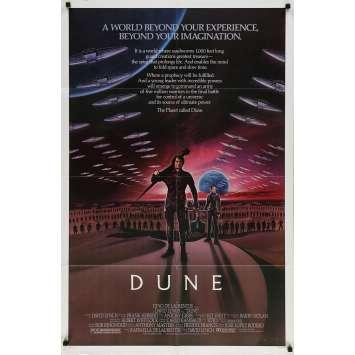 DUNE Original Movie Poster - 27x40 in. - 1982 - David Lynch, Kyle McLachlan