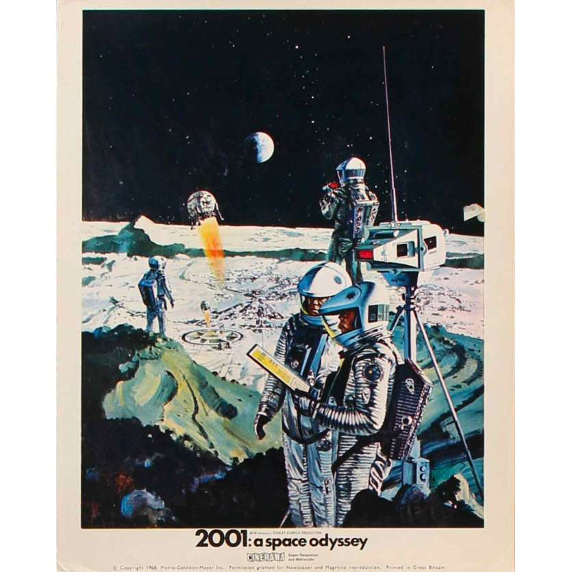 2001 L'ODYSSEE DE L'ESPACE Photo de film Cinerama N01 - 20x25 cm. - 1968 - Stanley Kubrick