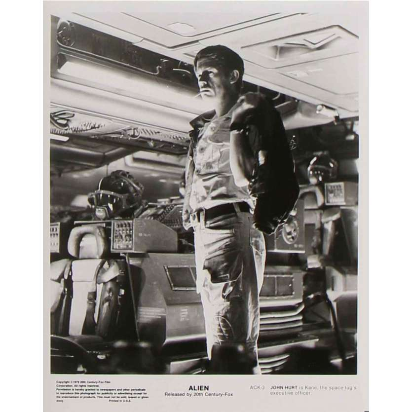 ALIEN Photo de presse ACK-3 - 20x25 cm. - 1979 - Sigourney Weaver, Ridley Scott