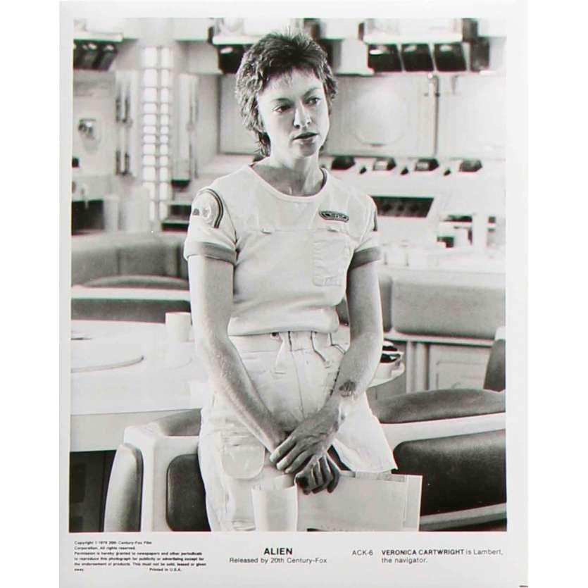 ALIEN Photo de presse ACK-6 - 20x25 cm. - 1979 - Sigourney Weaver, Ridley Scott