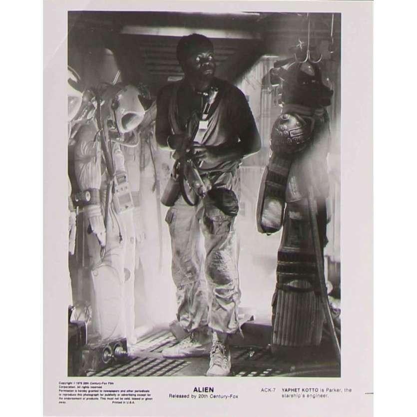 ALIEN Photo de presse ACK-7 - 20x25 cm. - 1979 - Sigourney Weaver, Ridley Scott