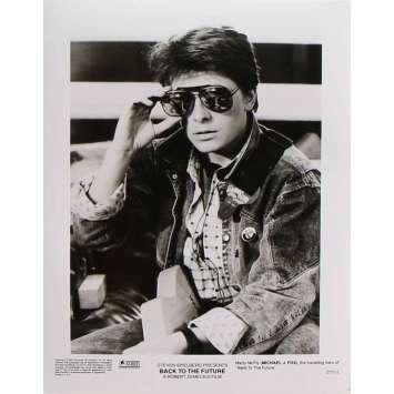 RETOUR VERS LE FUTUR Photo de presse 2171-2 - 20x25 cm. - 1985 - Michael J. Fox, Robert Zemeckis