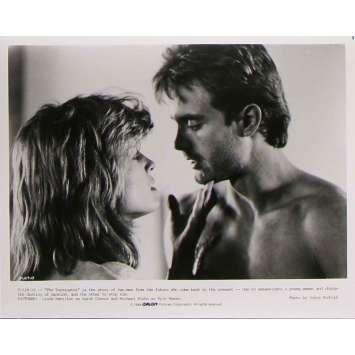 TERMINATOR Photo de presse T-129-19 - 20x25 cm. - 1983 - Arnold Schwarzenegger, James Cameron