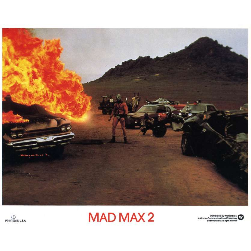 MAD MAX 2 Photo de film N10 - 20x25 cm. - 1982 - Mel Gibson, George Miller