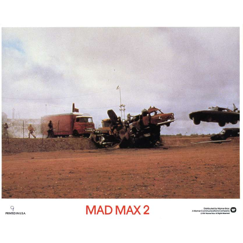 MAD MAX 2: THE ROAD WARRIOR Original Lobby Card N09 - 8x10 in. - 1982 - George Miller, Mel Gibson