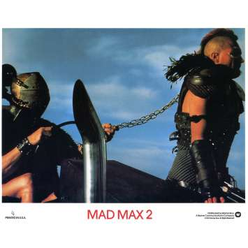 MAD MAX 2: THE ROAD WARRIOR Original Lobby Card N04 - 8x10 in. - 1982 - George Miller, Mel Gibson