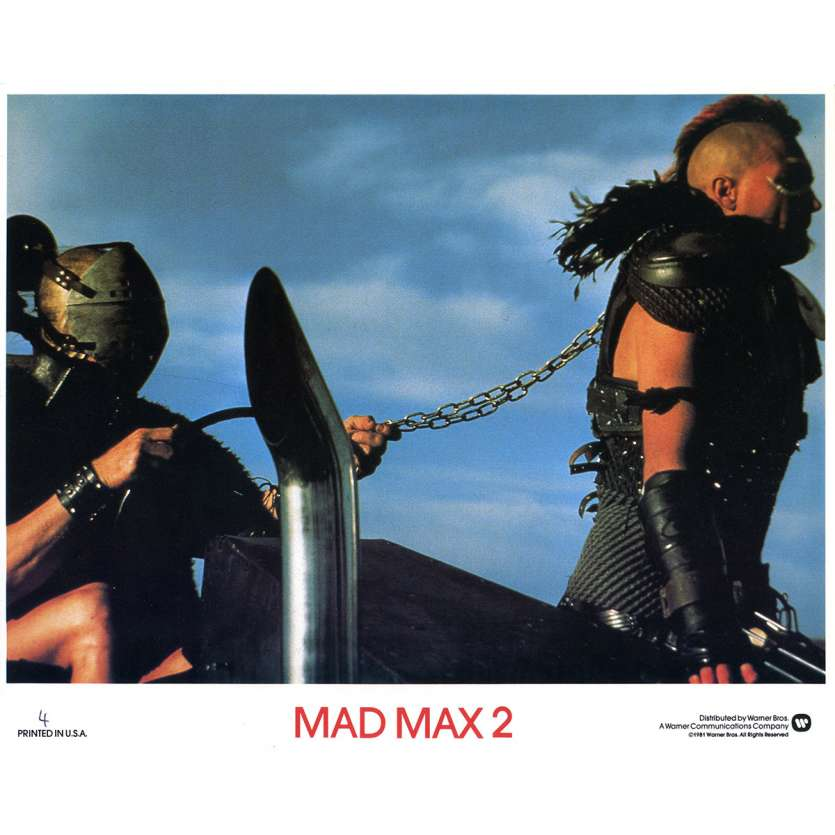 MAD MAX 2 Photo de film N04 - 20x25 cm. - 1982 - Mel Gibson, George Miller