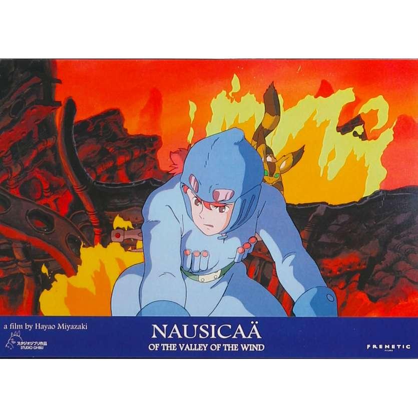 NAUSICAA Original Lobby Card N02 - 9x12 in. - 1984 - Hayao Miyazaki, Sumi Shimamoto