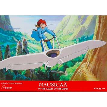 NAUSICAA Original Lobby Card N03 - 9x12 in. - 1984 - Hayao Miyazaki, Sumi Shimamoto