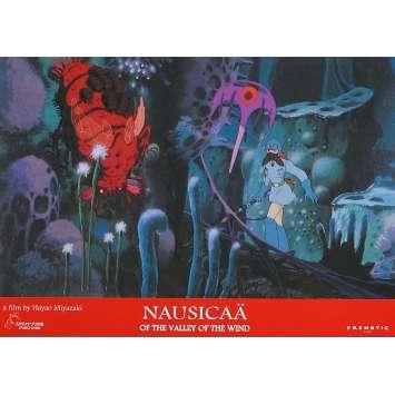 NAUSICAA Original Lobby Card N04 - 9x12 in. - 1984 - Hayao Miyazaki, Sumi Shimamoto