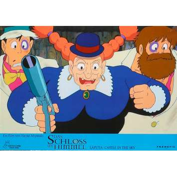 LE CHÂTEAU DANS LE CIEL Photo de film N02 - 21x30 cm. - 1986 - Anna Paquin, Hayao Miyazaki