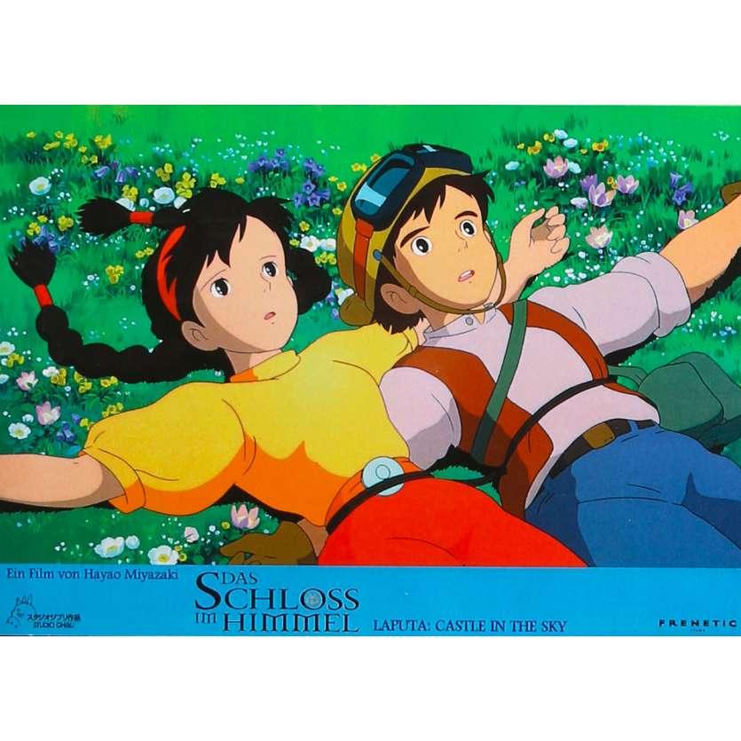CASTLE IN THE SKY Original Lobby Card N03 - 9x12 in. - 1986 - Hayao Miyazaki, Anna Paquin