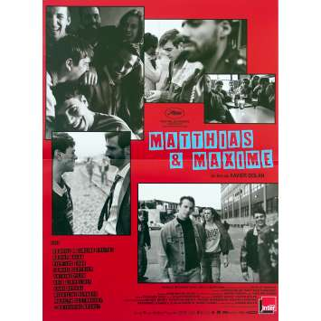 MATTHIAS ET MAXIME Affiche de film - 40x60 cm. - 2019 - Gabriel D'Almeida Freitas, Xavier Dolan