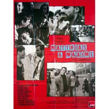MATTHIAS ET MAXIME Original Movie Poster - 47x63 in. - 2019 - Xavier Dolan, Gabriel D'Almeida Freitas