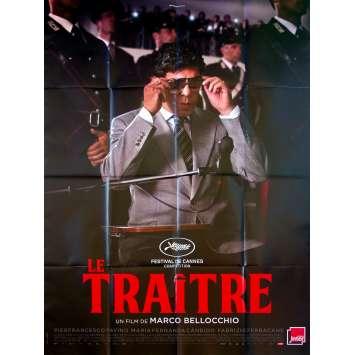 IL TRADITORE / THE TRAITOR Original Movie Poster - 47x63 in. - 2019 - Marco Bellocchio, Pierfrancesco Favino