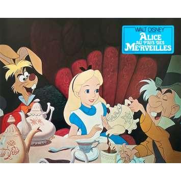ALICE AU PAYS DES MERVEILLES Photo de film N05 - 21x30 cm. - R1970 - Ed Wynn, Walt Disney