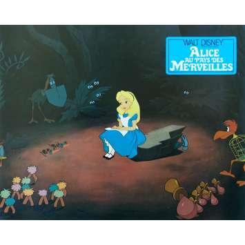 ALICE AU PAYS DES MERVEILLES Photo de film N03 - 21x30 cm. - R1970 - Ed Wynn, Walt Disney