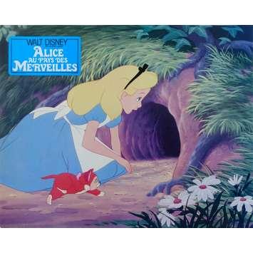 ALICE AU PAYS DES MERVEILLES Photo de film N02 - 21x30 cm. - R1970 - Ed Wynn, Walt Disney