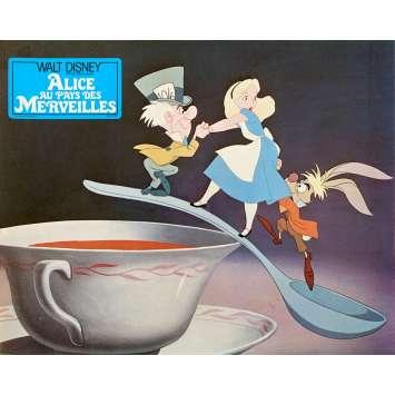 ALICE AU PAYS DES MERVEILLES Photo de film N01 - 21x30 cm. - R1970 - Ed Wynn, Walt Disney